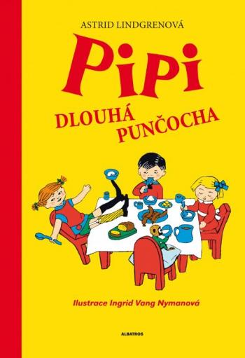 Pipi Dlouhá punčocha, nakladatelství Albatros