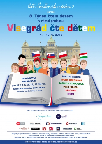The 8th Week of Reading to Kids within the project Visegrad Reads To Kids