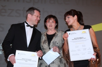 Eva Katrušáková amongst the Finalists of the Social Entrepreneur of the Year 2012