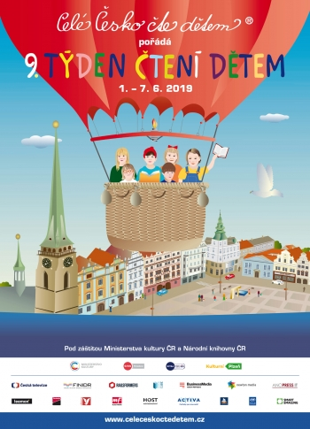 The 9th Week of Reading to Kids in CZ was commenced in the city of Pilsen